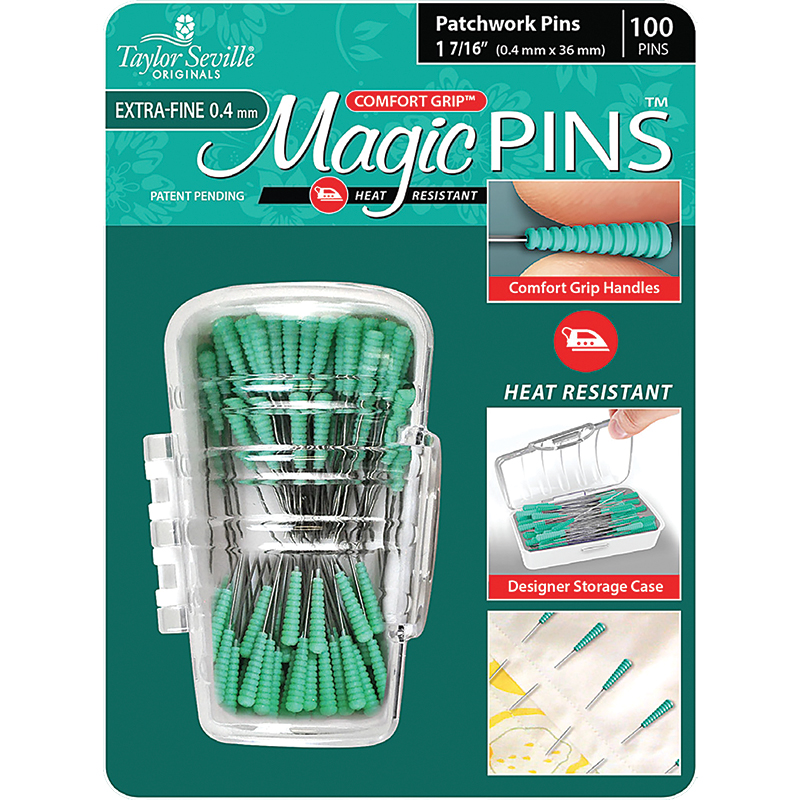 Magic Pins Patchwork Xfin 100ct
