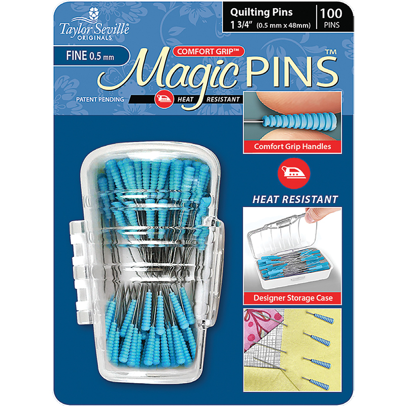 Magic Pins Quilting Fine 100ct
