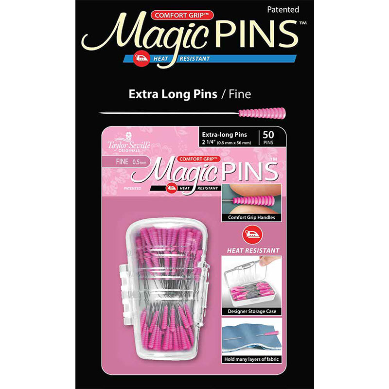 Tailor Mate Magic Pins Extra Long Fine 50ct