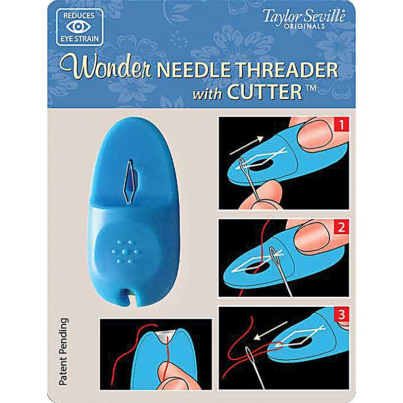 Wonder Needle Threader w/Cutter