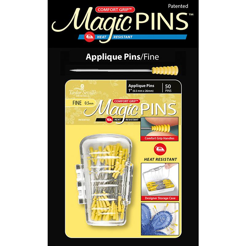 Magic Pins Applique Fine 50ct