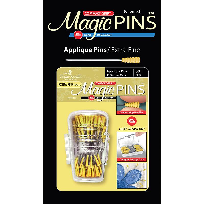 219775 Magic Pins Applique 50ct X Fine