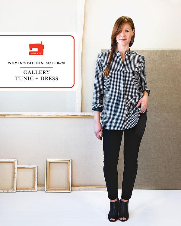 Gallery Tunic + Dress #LC015GT by Liesl + Co.