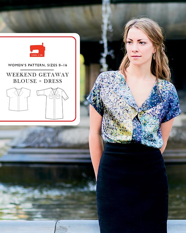 Weekend Getaway Blouse & Dress Liesl + CO