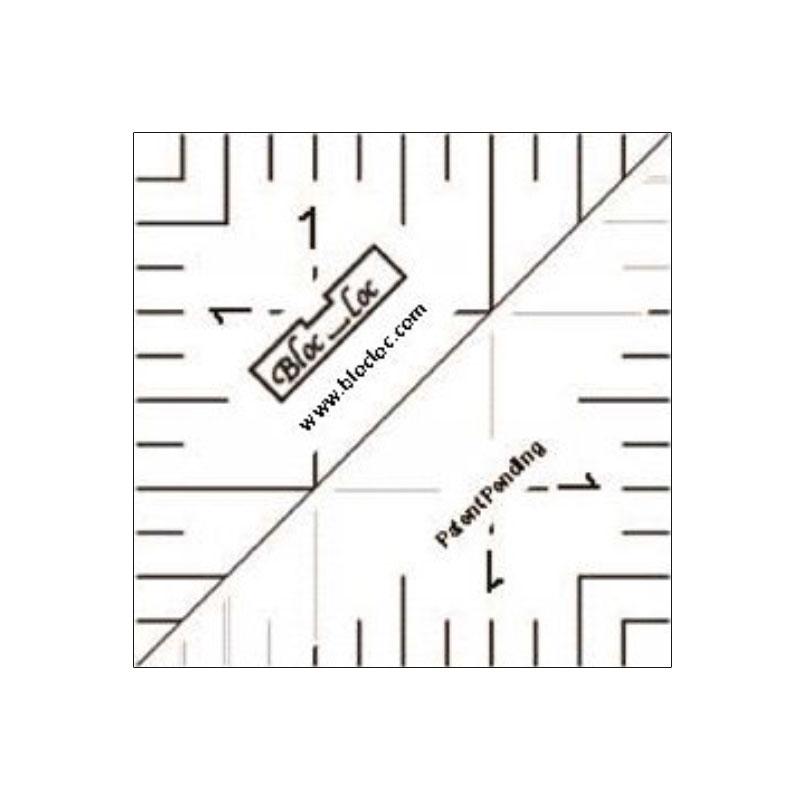 Half Square Triangle Ruler 1.5