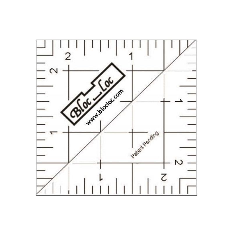 Half Square Triangle Ruler 2.5