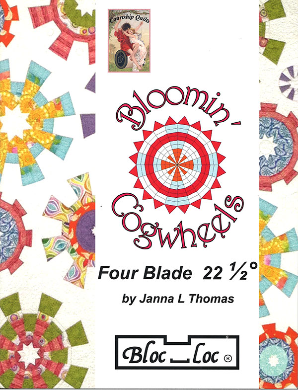 Bloomin Cogwheels W/4 Blade Rlr