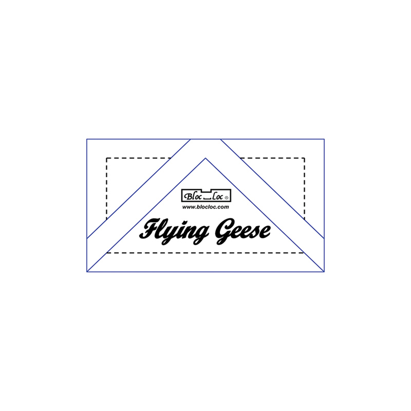 Flying Geese Ruler 7/8 x 1 3/4