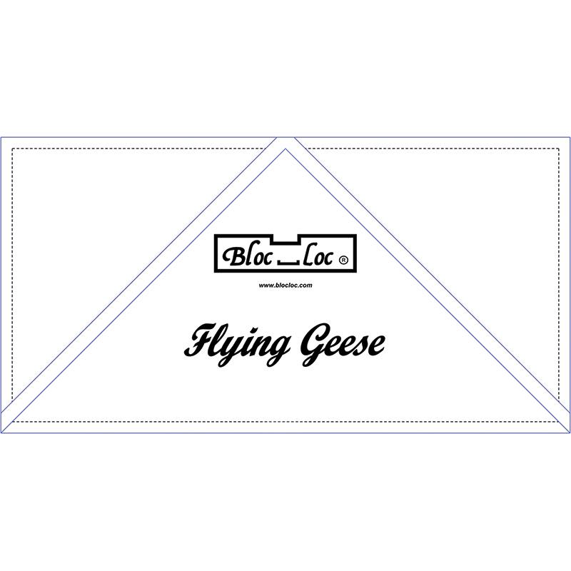 Bloc Loc Rulers Flying Geese Ruler 6 x 12