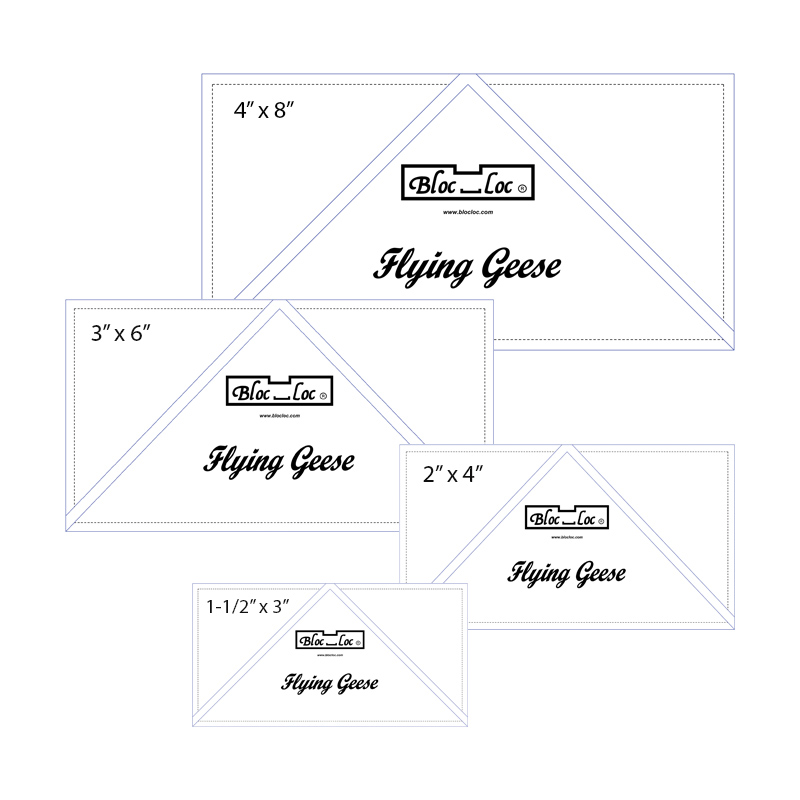 Flying Geese Ruler Set 1