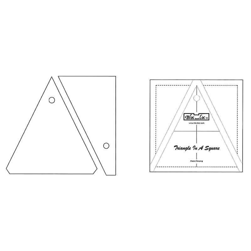 Triangle in A Square 3 x 3