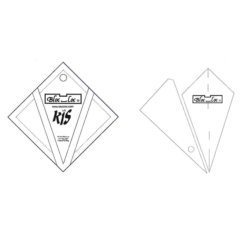 Kite in A Square Ruler 6 x 6