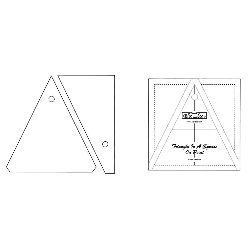 Bloc Loc Triangle in a Square 6