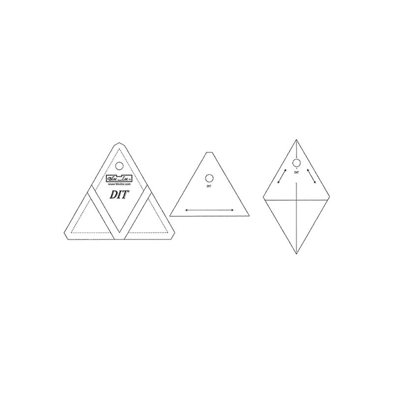 Bloc Loc Diamond In A Triangle 1x1