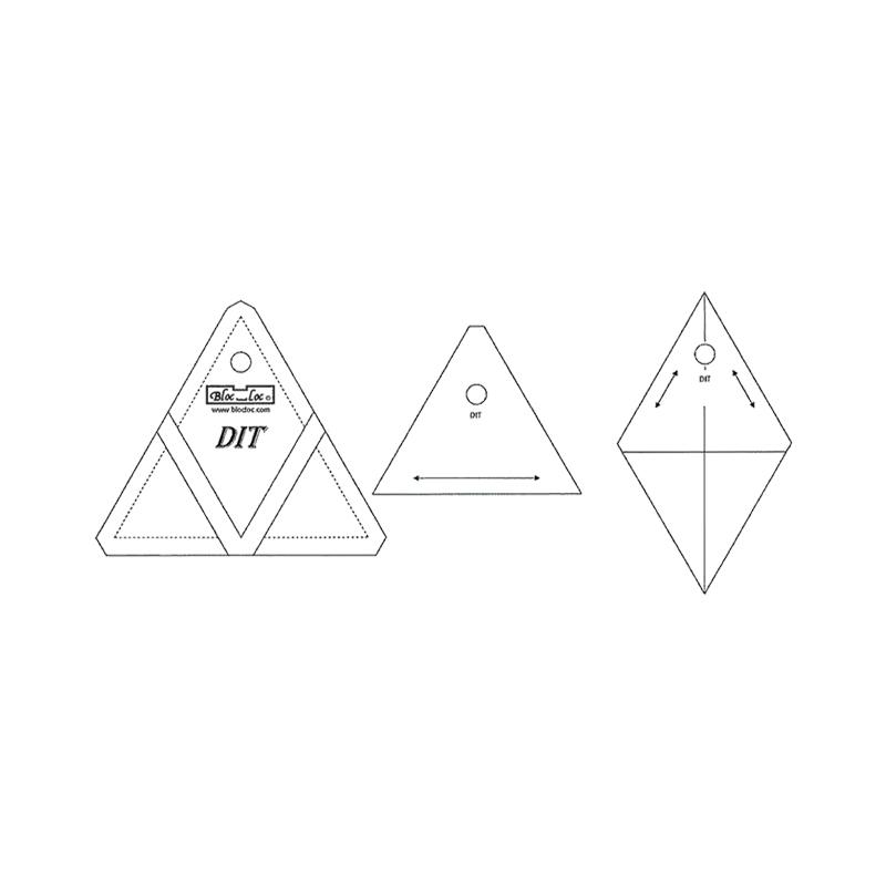 Bloc Loc Diamond In A Triangle 3x3