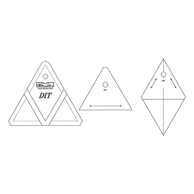 Bloc Loc Diamond In A Triangle 5x5