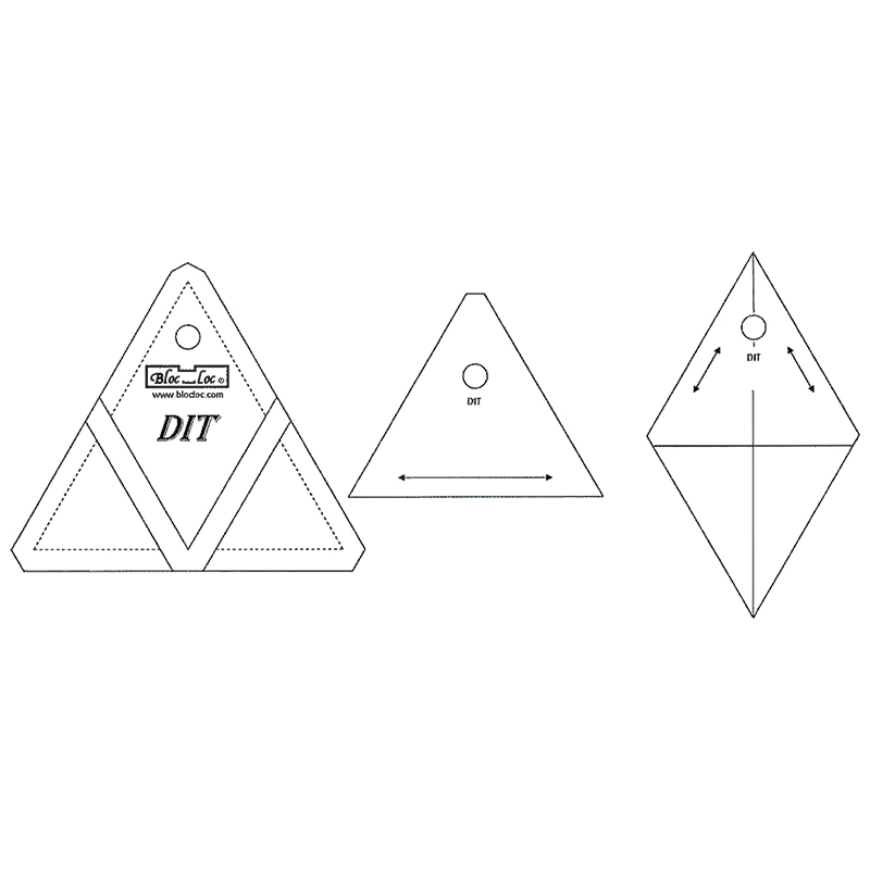 Bloc Loc Diamond In A Triangle 6x6