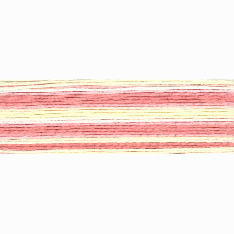 8007 Cosmo Seasons Variegated - pinks/cream -
