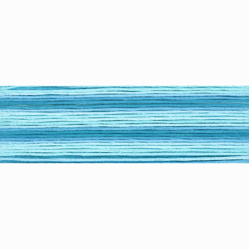 8053 Cosmo Seasons Variegated - Blues -