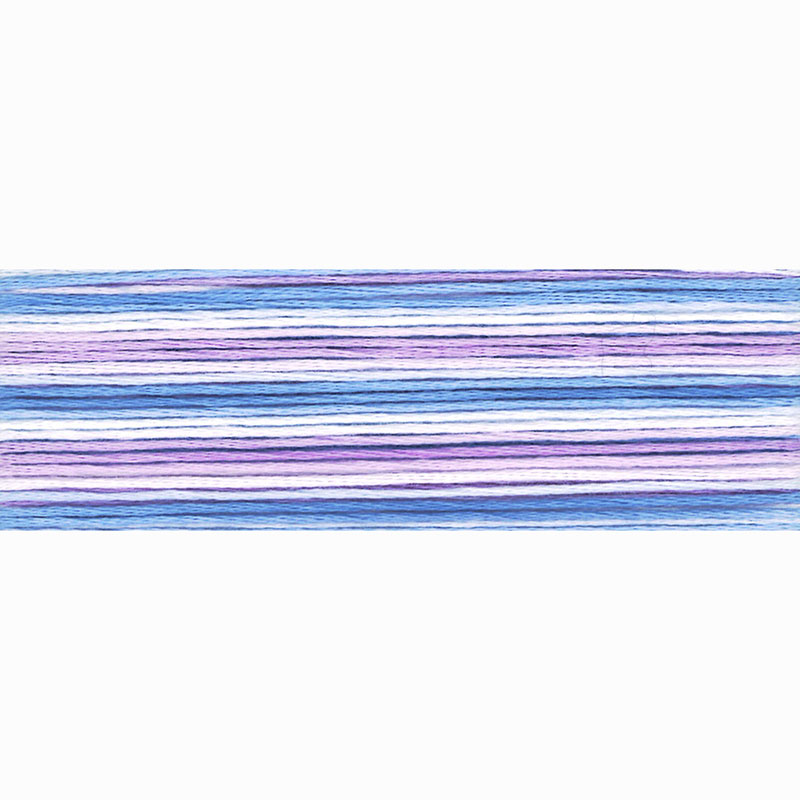 8059 Cosmo Seasons Variegated - purples/blues -