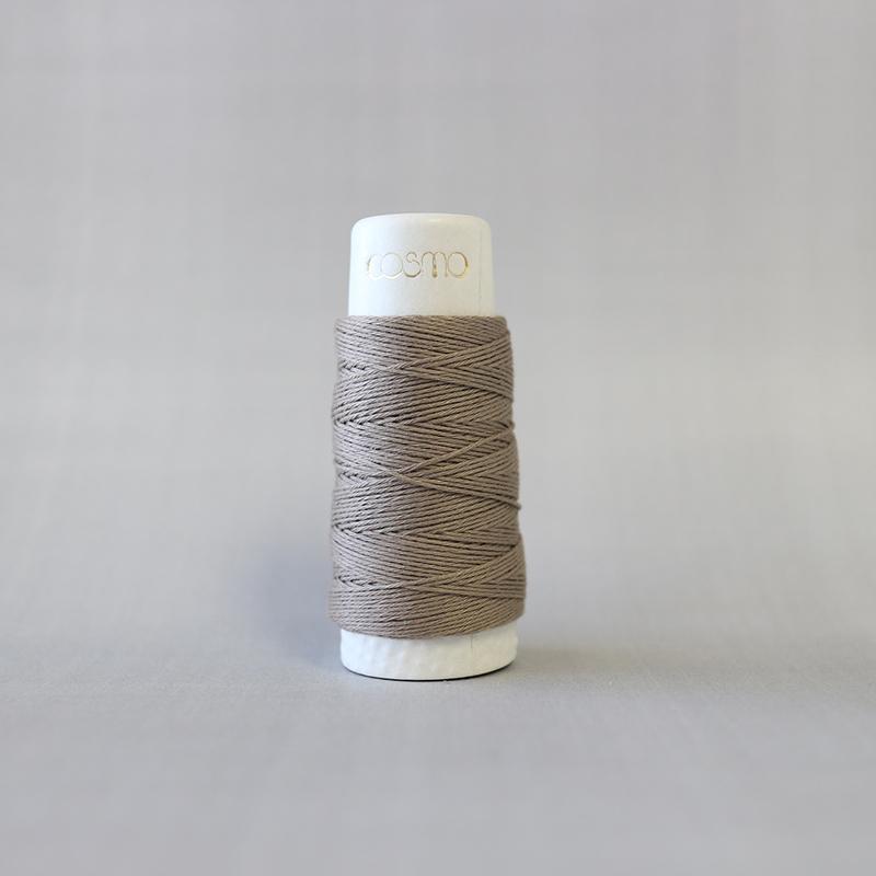 Hidamari Sashiko Thread - Taupe