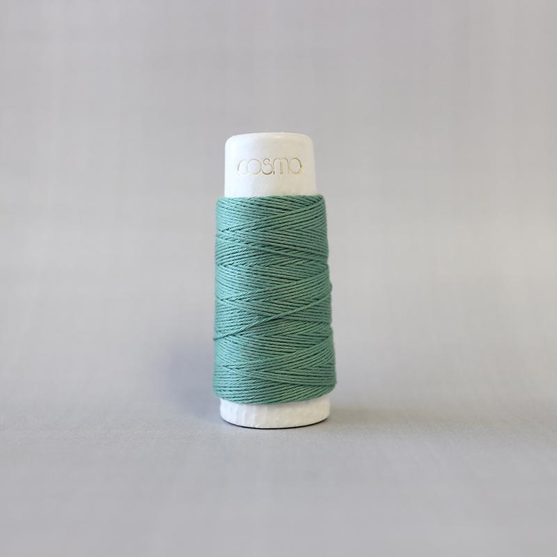 Hidamari Sashiko Thread - Green