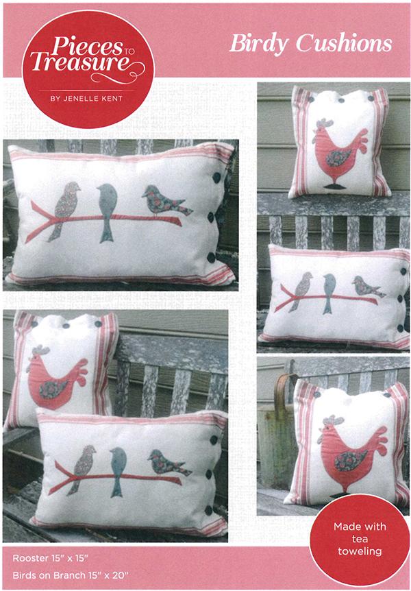 Birdy Cushions Pattern