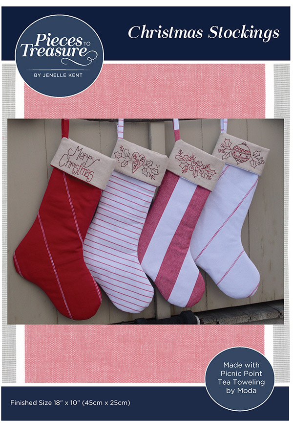 Christmas Stitchery Stockings PTT-188