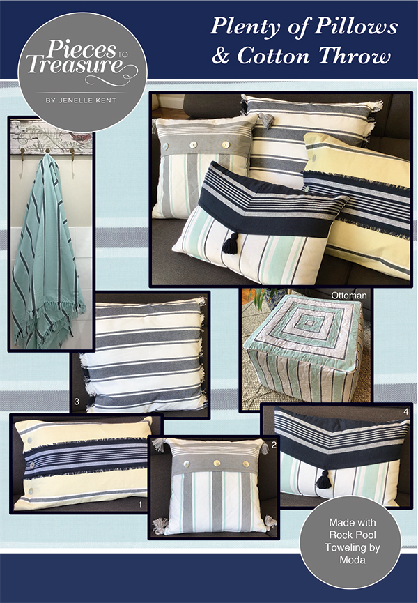 PT S Pieces to Treasure Plenty of Pillows and Throw
