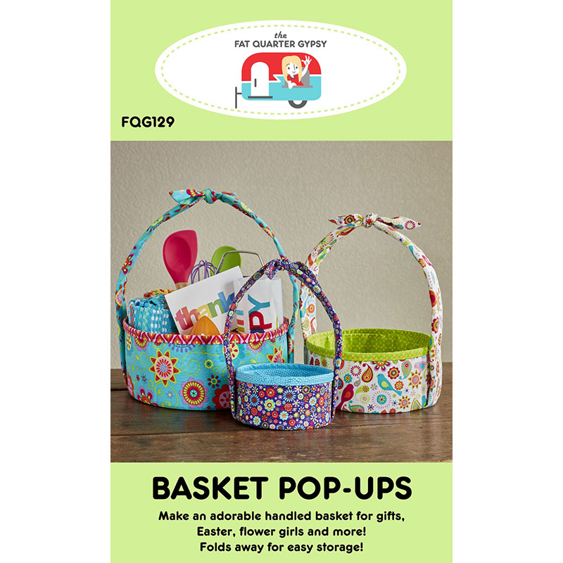 Basket Pop Up Pattern