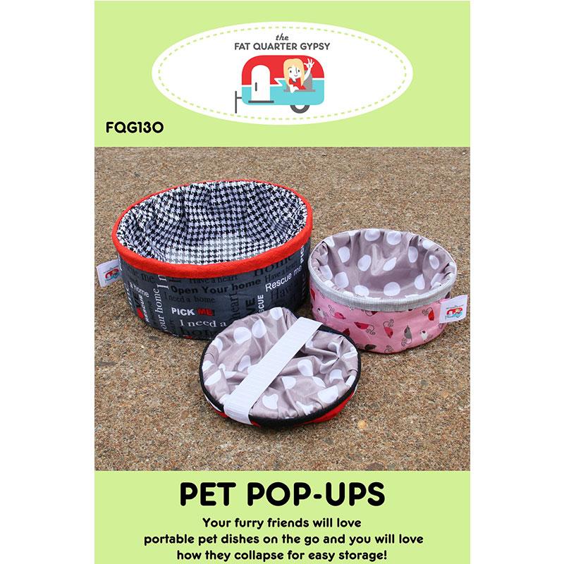 Pet Pop-Ups Pattern