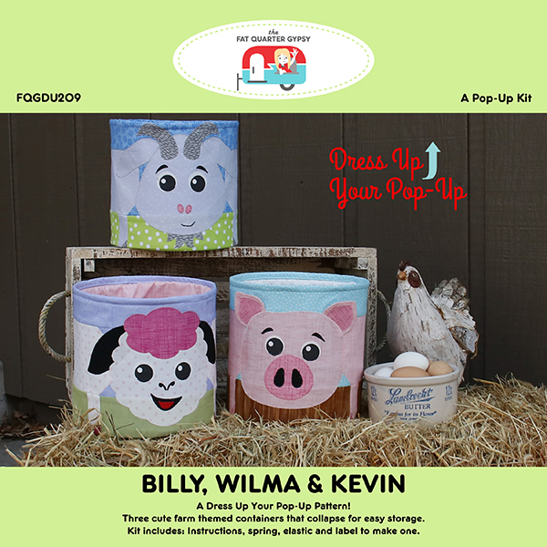 Billy Wilma & Kevin Pop Up