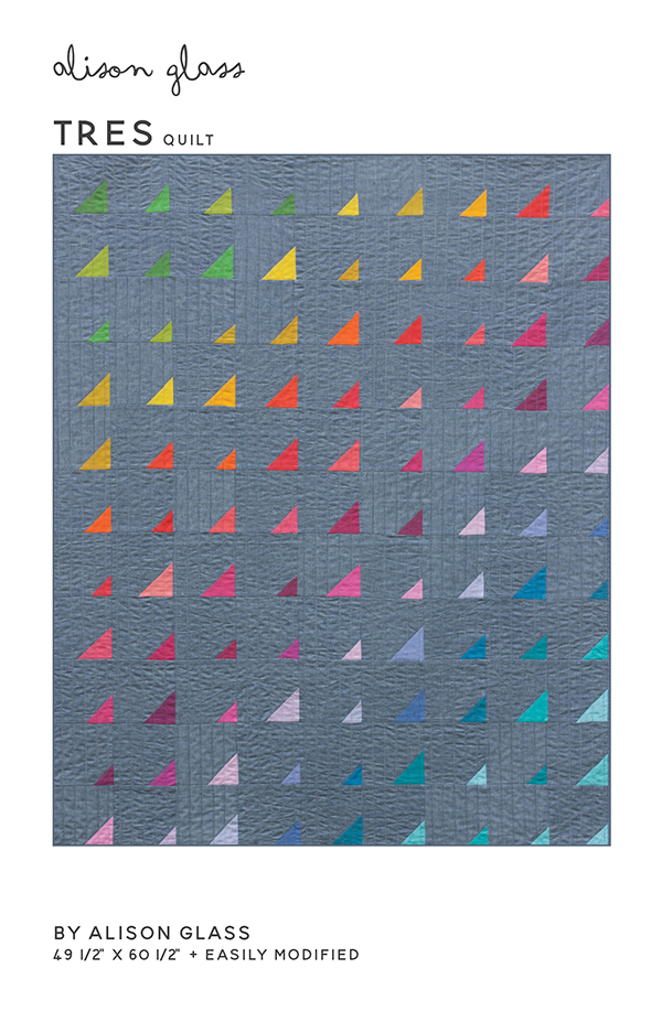 Tres Quilt Pattern by Alison Glass