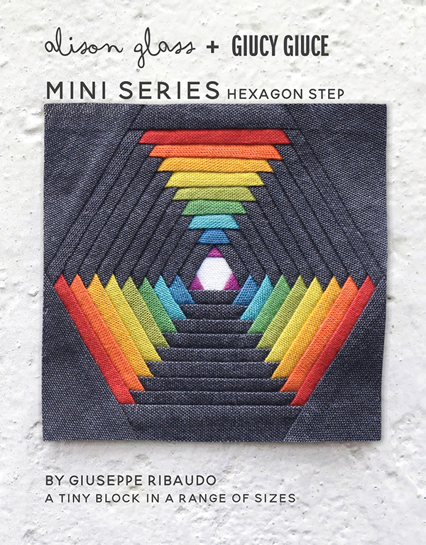 Mini Series Hexagon Step Pattern
