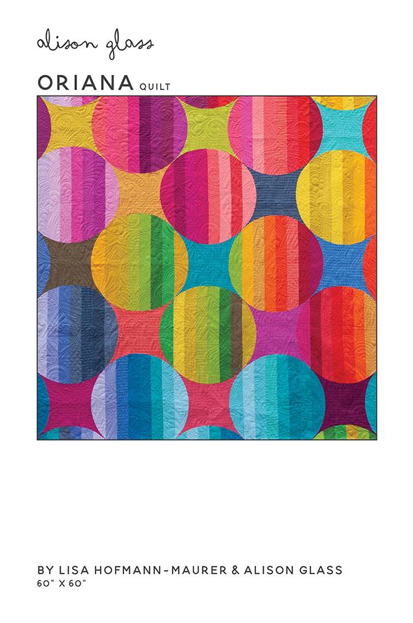 Alison Glass Oriana Quilt Pattern