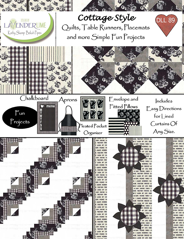 Cottage Style Quilts Table Runners Placemats Booklet