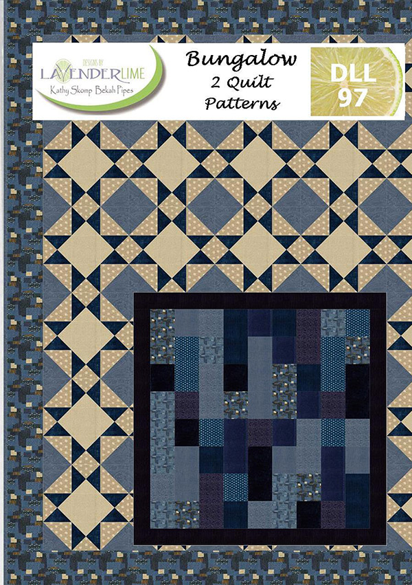 Bungalow Pattern Book, 2 Patterns