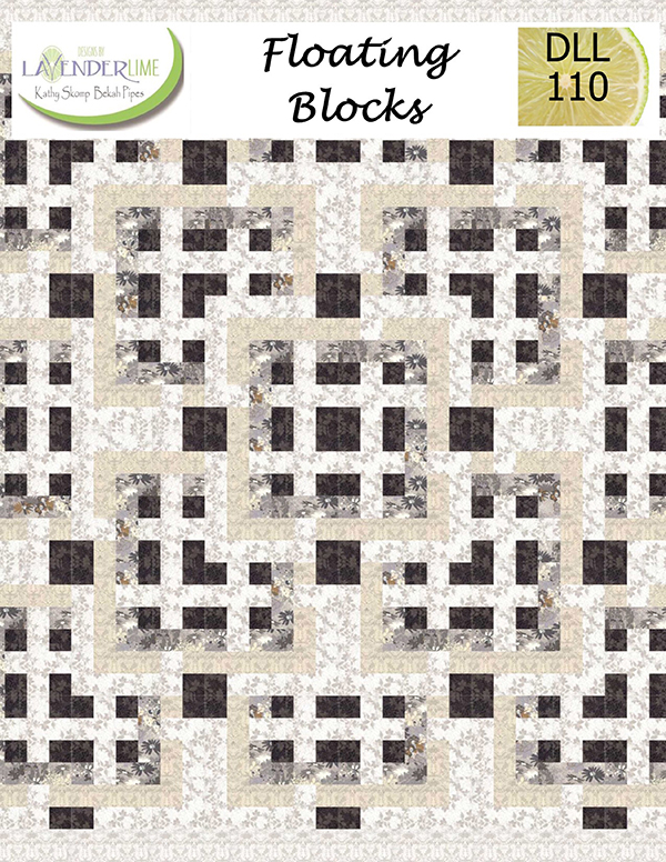 Floating Blocks by Lavender & Lime DLL-110
