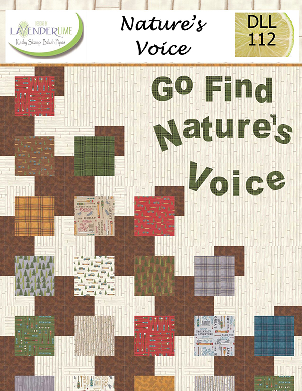 Natures Voice Pattern by Lavender Lime