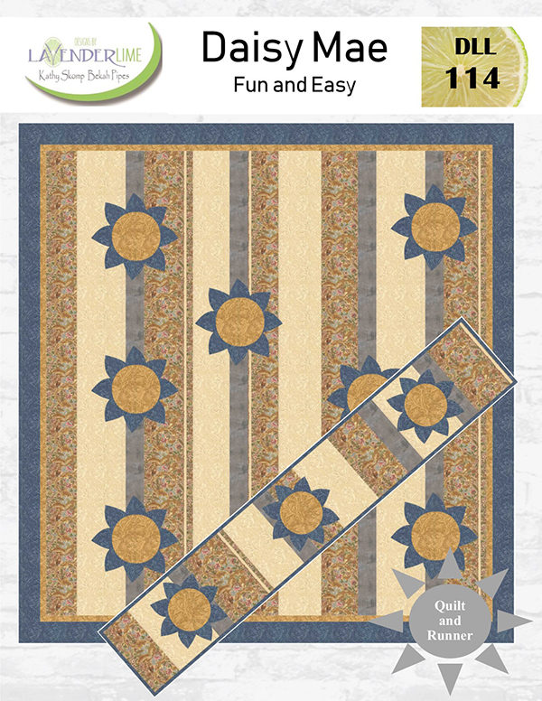 Daisy Mae Quilt & Table Runner Pattern