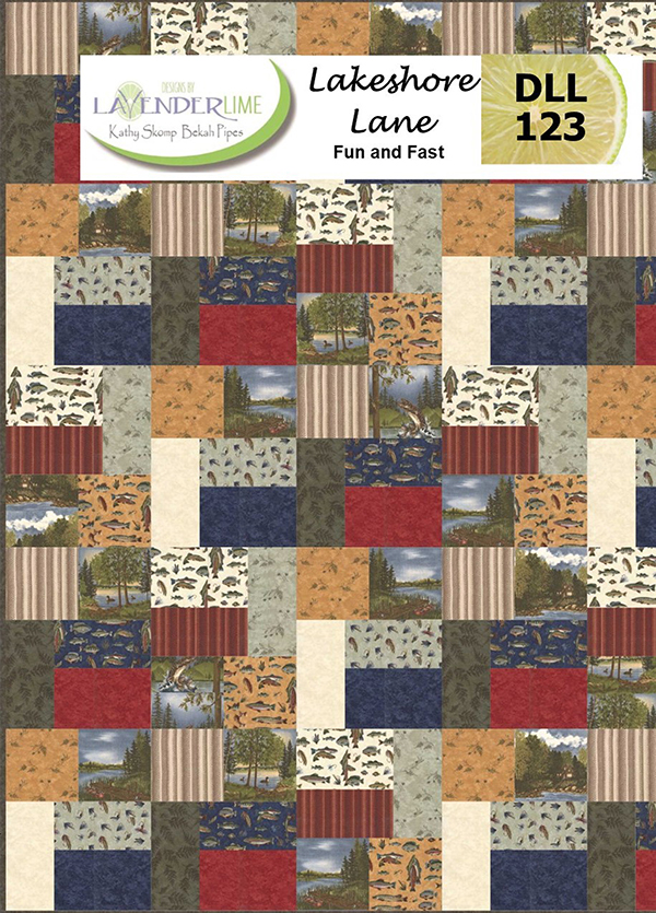 Lakeshore Lane Quilt Pattern by Lavender Lime