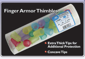 Dill Finger Armor Thimbles 11/16 Sm