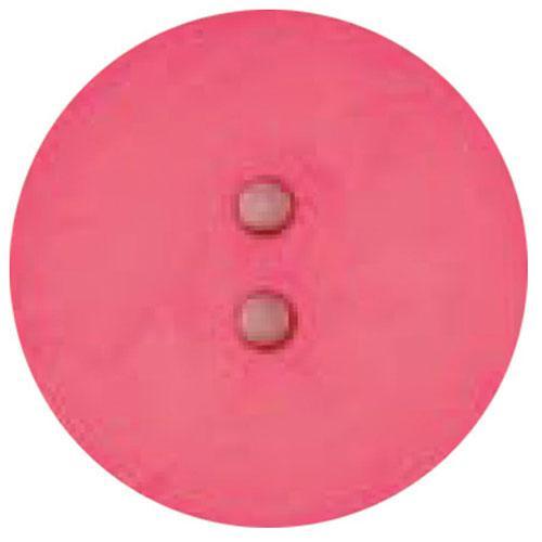Round Button 60mm Hot Pink