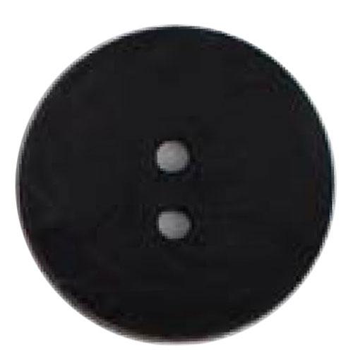Round Button 45mm Black