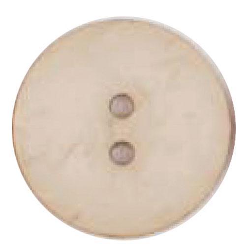 Round Button 45mm Ivory