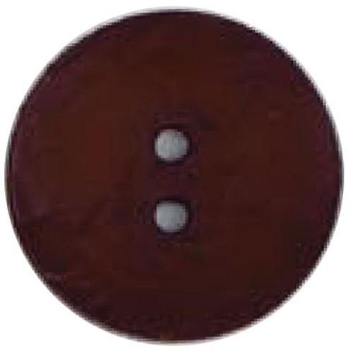 Round Button 45mm Chocolate