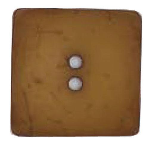 Button Square Light Brown