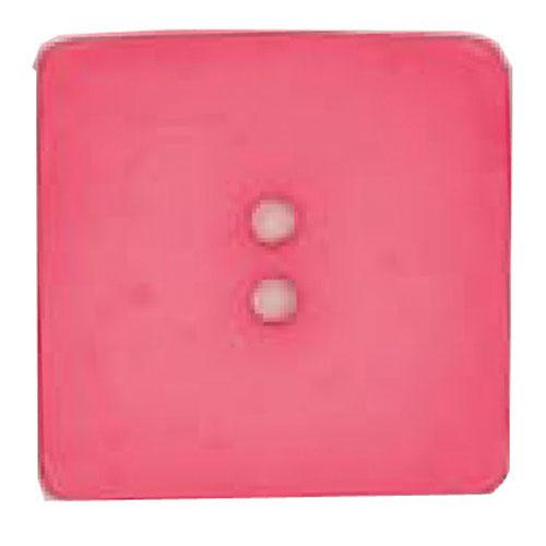 Dill Square Button 60MM Hot Pink