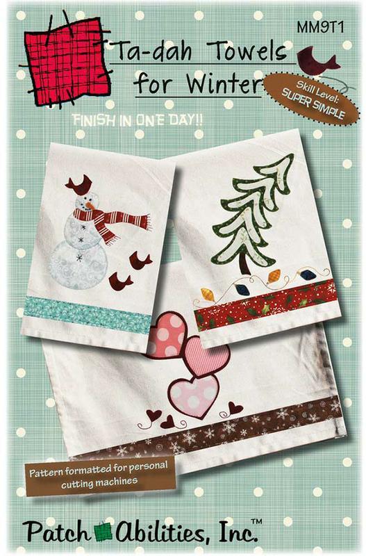 Ta Dah Towels For Winter