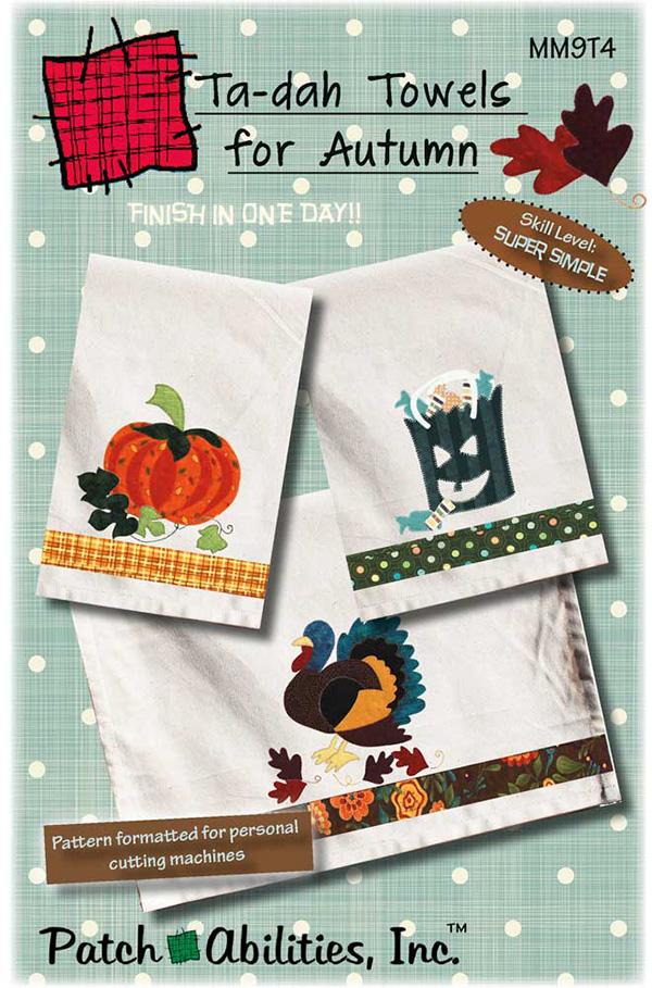 Ta Dah Towels For Autumn